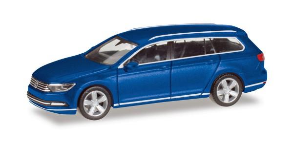 Herpa 038423-004 - VW Passat Variant, atlanticblau metallic - 1:87