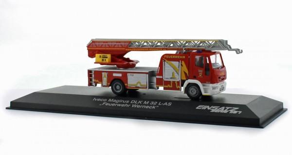 Rietze 68541 - Iveco Magirus DLA (K) 23-12 GL FW Werneck - 1:87 (Einsatz Serie)