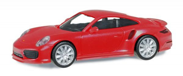 Herpa 028615-002 - Porsche 911 Turbo, rot - 1:87
