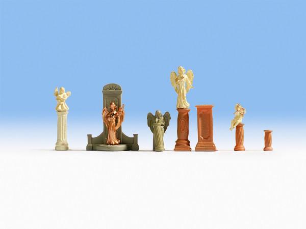 NOCH 14872 - Grabmäler und Statuen - H0