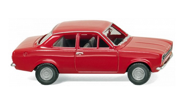 Wiking 020301 - Ford Escort - rot - H0