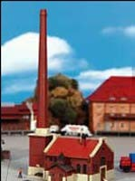 Kibri 36605 (6605) - Kesselhaus mit Kamin - Bausatz - Z
