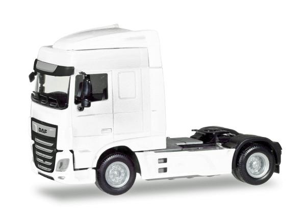Herpa 309059 - DAF XF Euro 6 SC Zugmaschine Facelift, weiß - 1:87