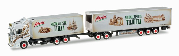 "Herpa 305495 - Scania R HL Eurocombi ""Ristimaa Atria"" (SF) - 1:87"
