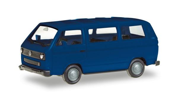 Herpa 013093-002 - Herpa MiniKit: VW T3 Bus, ultramarinblau - 1:87